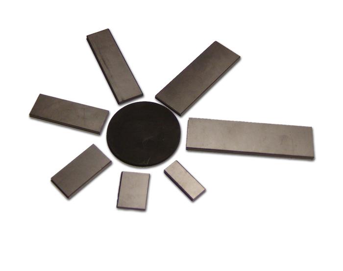 Palette in carbonio (o fibra) per pompe vuoto a bagno d'olio o lubrificazione a goccia